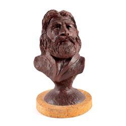 Original G.C. Wentworth Mountain Man Bust
