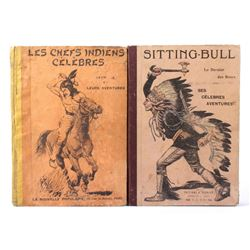 Early Native American Chief French Pressed Novels