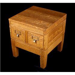 Early Quarter Sawn Oak Industrial Filing Cabinet