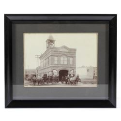 Early Montana Territory City Hall Photograph
