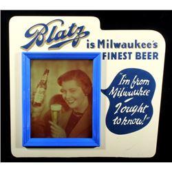 Blatz Beer Light Up Advertising Sign