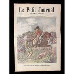 Le Petit Journal of Buffalo Bill Cody Circa 1890