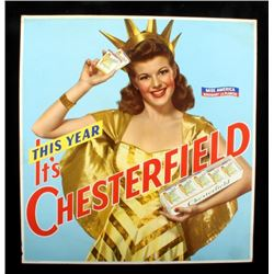 Chesterfield Cigarette Miss America Advertisement