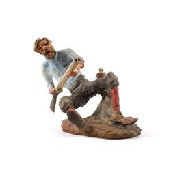 Original G.C. Wentworth Shotgunner Sculpture