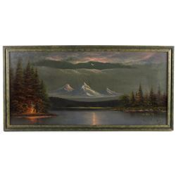 Early 20th Century Original Landscape Oil Painting