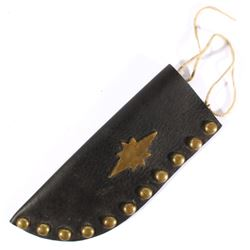 Crow Indian Brass Tacked Sheath