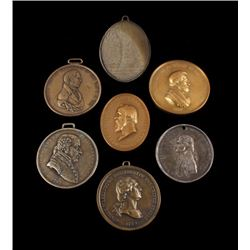 Presidential Indian Peace Medals from 1794 to 1877
