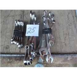 3 Lots of Metric Wrenches