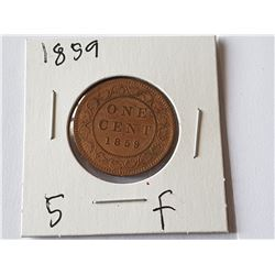 1859 Large Penny