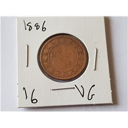 1886 Large Penny