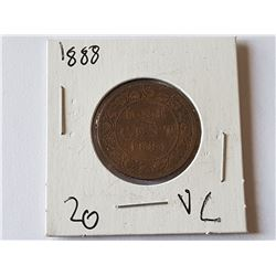 1884 Large Penny