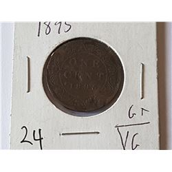 1895 Large Penny