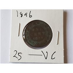 1896 Large Penny