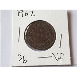 1902 VF Large Penny
