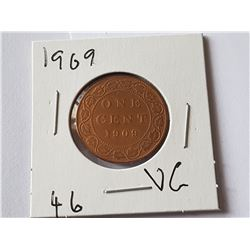 1909 Large Penny