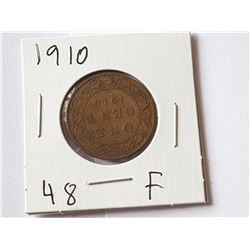 1910 Large Penny