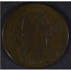 1802 LARGE CENT, FINE