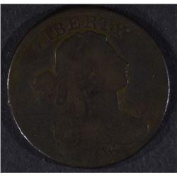 1806 LARGE CENT, VG/FINE