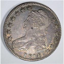 1818 BUST HALF VF/XF