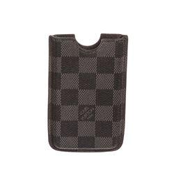 Louis Vuitton Damier Graphite Canvas Leather Iphone 3 Case