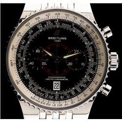 Breitling Stainless Steel Montbrilliant Legende Navitimer Men's Watch