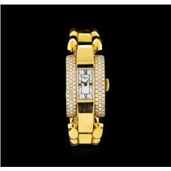 Chopard 18KT Gold 1.75 ctw Diamond La Strada Ladies Watch