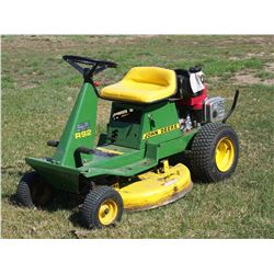 John Deere R92 Riding Lawn Mower, 10 1/2 HP, Running