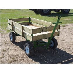 3'x6' Homebuilt Wagon
