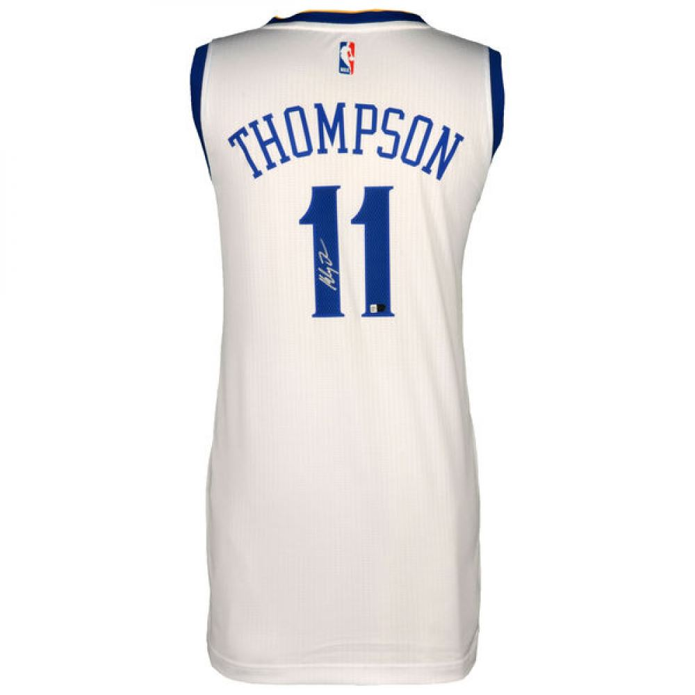online retailer 2e3c4 85f53 Klay Thompson Signed Warriors Jersey (Fanatics Hologram)