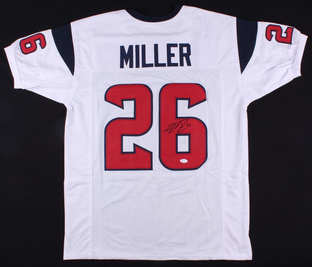 separation shoes 223b3 34f9e Lamar Miller Signed Texans Jersey (JSA COA)