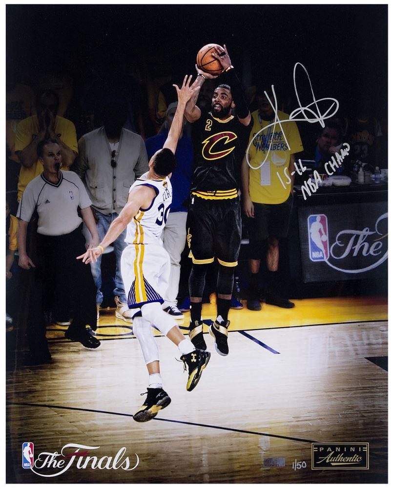 wholesale dealer a3a72 d5618 Image 1   Kyrie Irving Signed LE Cavaliers