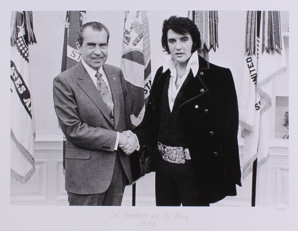The Hulton Archive - Richard Nixon and Elvis Presley – The
