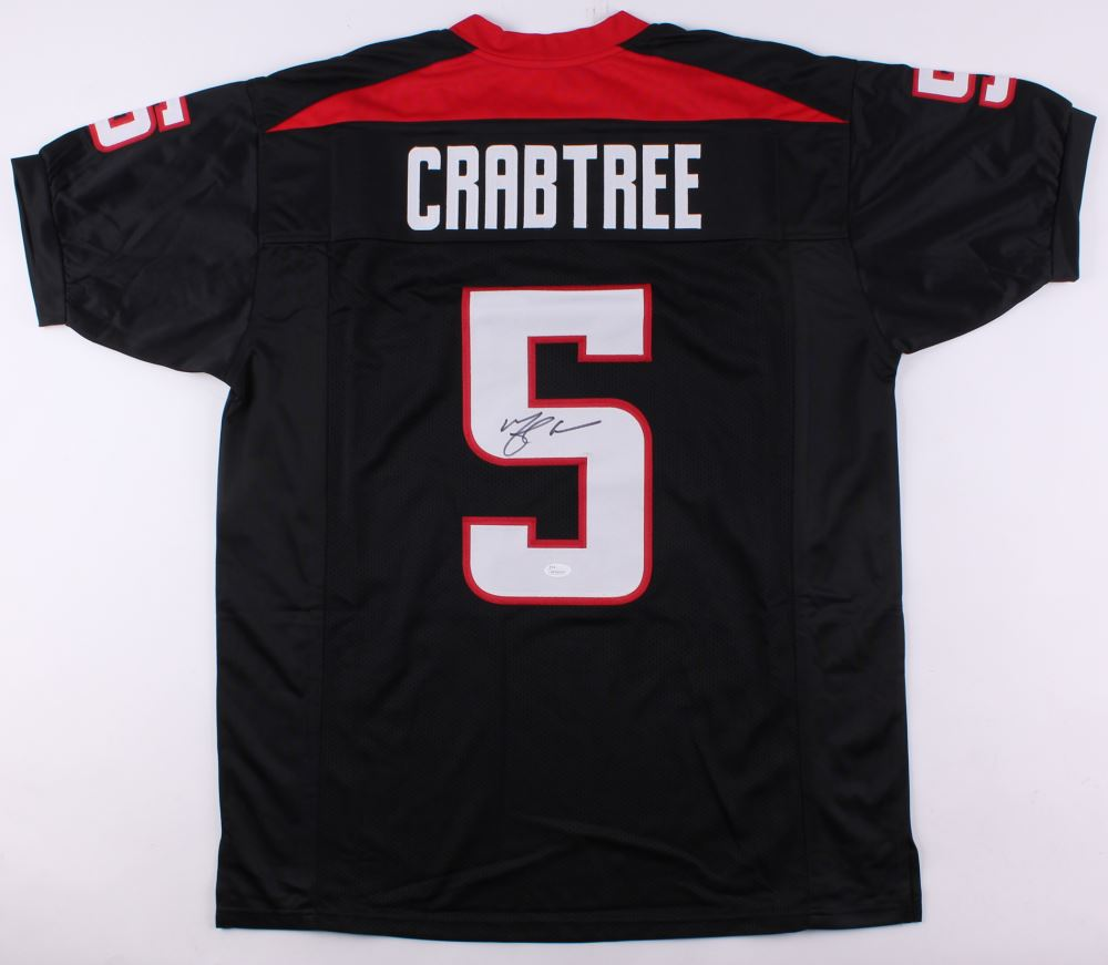 size 40 563b1 a5c6a Michael Crabtree Signed Texas Tech Red Raiders Jersey ...