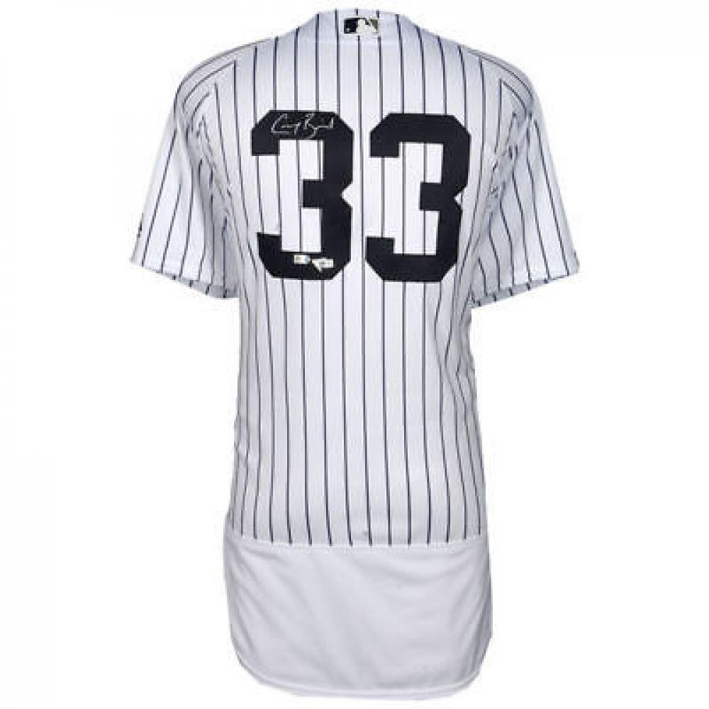 buy popular d5c75 7c089 Greg Bird Signed Yankees Jersey (Fanatics MLB Hologram)