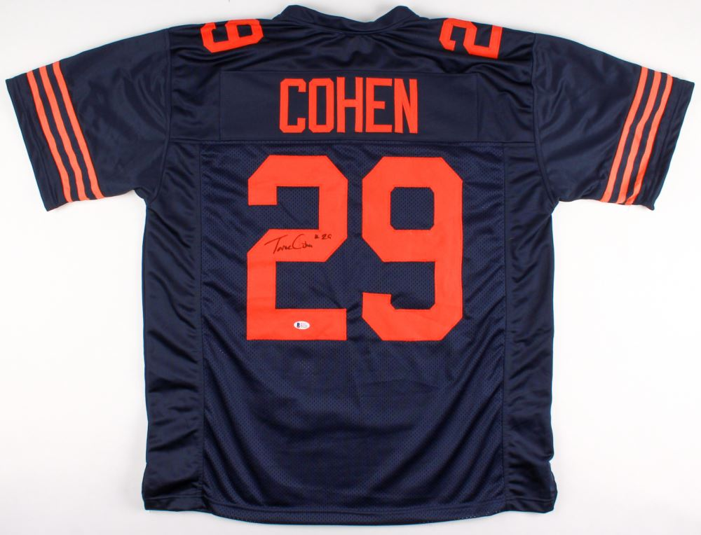 best service cd6bb 11070 Tarik Cohen Signed Bears Jersey (Beckett COA)