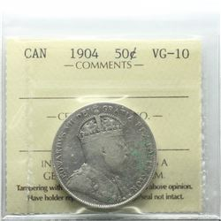 50-cent 1904 ICCS Certified VG-10