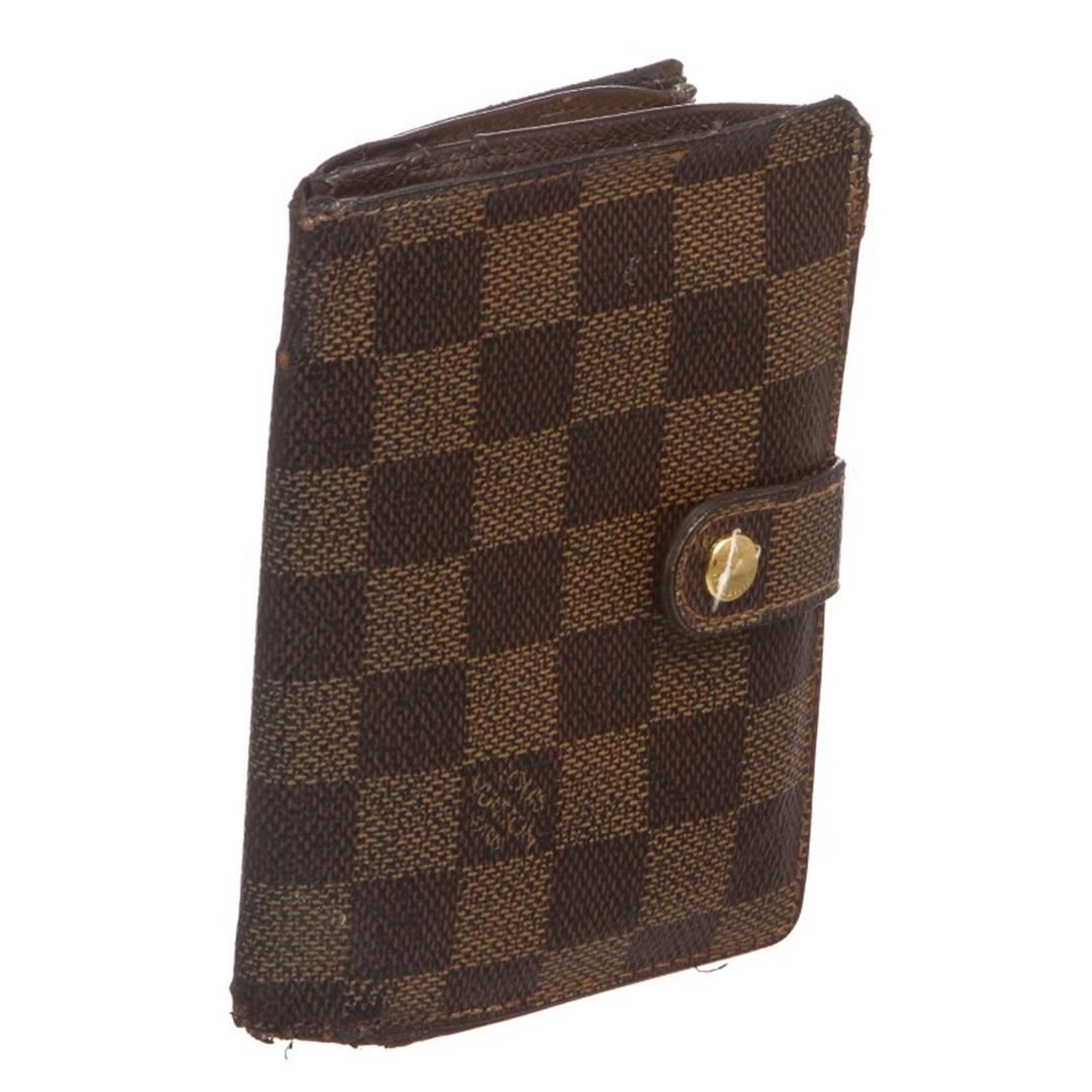 8436dca82f78 Louis Vuitton Damier Ebene Canvas Leather French Wallet