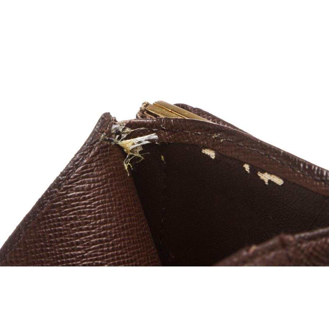 ff767cca624e ... Image 5   Louis Vuitton Damier Ebene Canvas Leather French Wallet ...