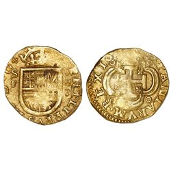 Bogota (formerly attributed to Cartagena) Colombia cob 2 escudos, 162(2), Philip III Margarita Wreck