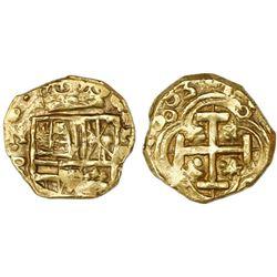 Bogota, Colombia, cob 2 escudos, 1683(G), rare, ex-Santa Fe.