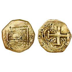 Bogota, Colombia, cob 2 escudos, 168(?)G.