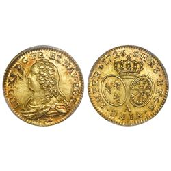 France (Paris mint), 1 louis d'or, Louis XIV, 1726-A, with dot (second semester), PCGS MS62.
