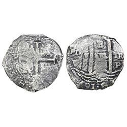 Potosi, Bolivia, cob 8 reales, 1679V.