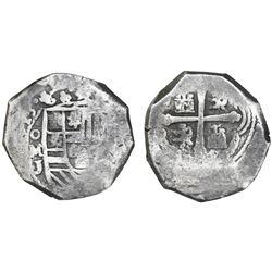 Mexico City, Mexico, cob 8 reales, (1)713J.