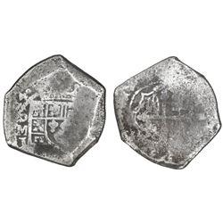 Mexico City, Mexico, cob 8 reales, (17)14J.