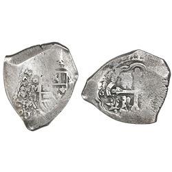 Mexico City, Mexico, cob 8 reales, 171(4)J.