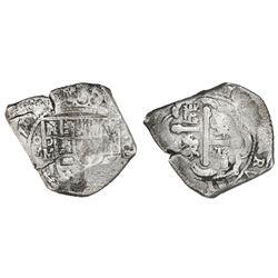 Mexico City, Mexico, cob 8 reales, (1)715J, ex-Ullian.