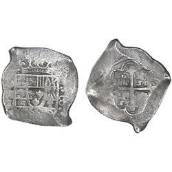 Mexico City, Mexico, cob 8 reales, Philip V, assayer J, ex-Goodpaster.
