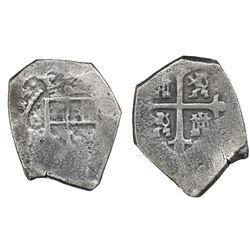 Mexico City, Mexico, cob 4 reales, (17)14(J), ex-Ullian.