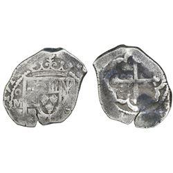 Mexico City, Mexico, cob 4 reales, 1714J, ex-Ullian.